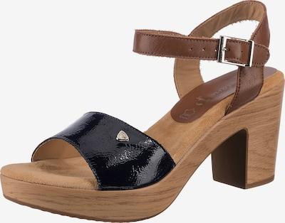 JANE KLAIN Sandale in braun / schwarz, Produktansicht