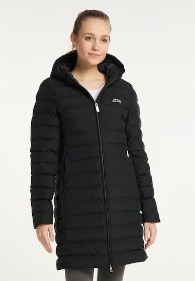 ICEBOUND Wintermantel in de kleur Zwart, Modelweergave