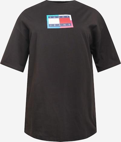 Tommy Jeans Curve Robe en bleu foncé / rouge / noir / blanc, Vue avec produit