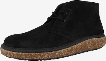 BIRKENSTOCK Chukka Boots 'Milton' in Schwarz