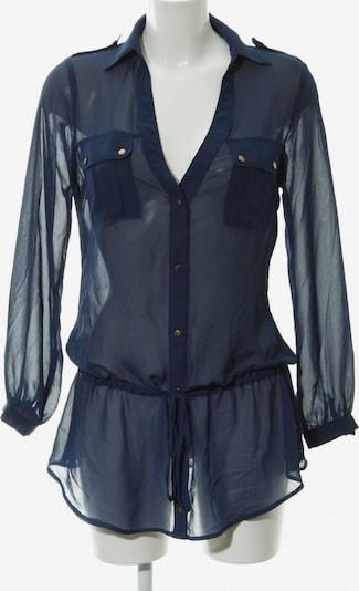 Jane Norman Langarm-Bluse in M in dunkelblau, Produktansicht