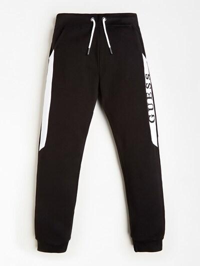 GUESS KIDS Jogginghose in schwarz, Produktansicht