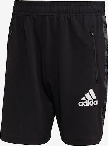 Pantalon de sport ADIDAS PERFORMANCE en noir