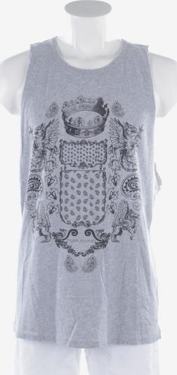 Balmain Shirt  in XL in graumeliert / schwarz, Produktansicht