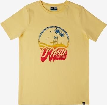 O'NEILL T-Shirt 'Gradient Vintage' in Gelb