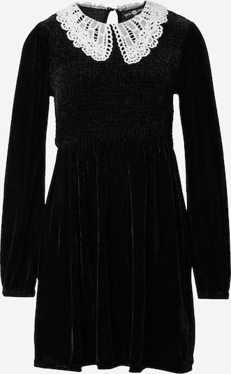 Daisy Street Košulja haljina 'PETER PAN' u crna / bijela, Pregled proizvoda