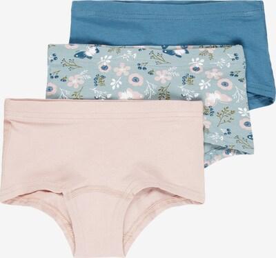 NAME IT Unterhose in himmelblau / pastellblau / rosa / puder / weiß, Produktansicht
