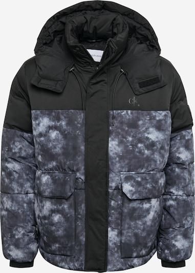 Calvin Klein Jeans Winterjas in de kleur Blauw / Zwart, Productweergave