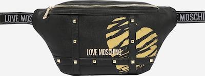 Borsetă Love Moschino pe nisip / auriu / gri deschis / negru: Privire frontală
