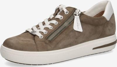 CAPRICE Sneaker in braun / weiß, Produktansicht