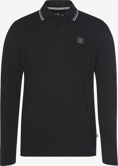 Tom Tailor Polo Team Shirt in schwarz, Produktansicht