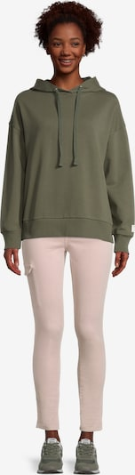 Cartoon Sweatshirt in grün, Produktansicht