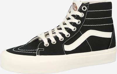 VANS Sneaker high en schwarz / weiß, Vue avec produit