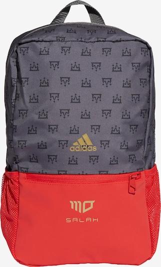 Sportinė kuprinė iš ADIDAS PERFORMANCE, spalva – antracito spalva / tamsiai pilka / raudona, Prekių apžvalga