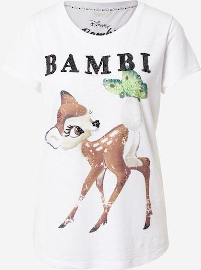 Frogbox Shirt 'Bambi' in de kleur Gemengde kleuren / Wit, Productweergave