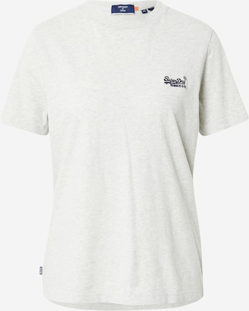 Superdry Tričko - biela