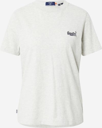 Superdry Tričko - námornícka modrá / biela melírovaná, Produkt