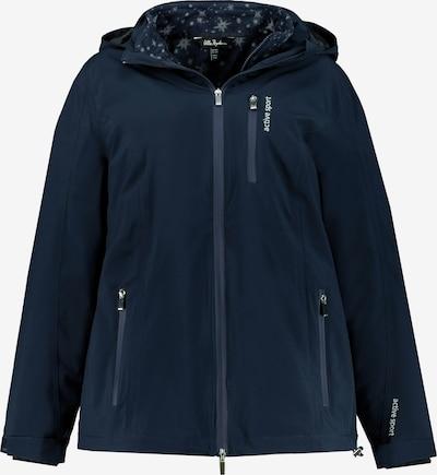 Ulla Popken Functionele jas in de kleur Marine, Productweergave