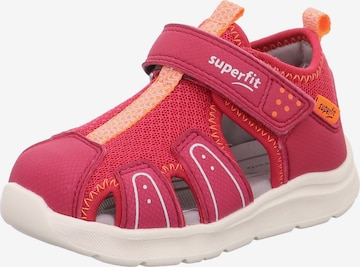 SUPERFIT Sandal 'WAVE' in Red