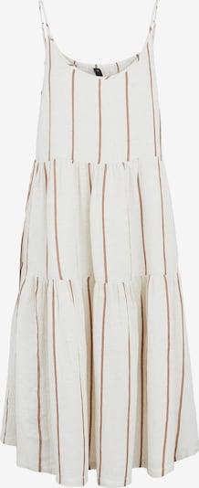 Y.A.S Kleid 'TRIMLA' in creme / braun, Produktansicht