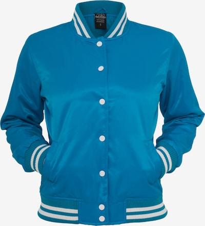 Urban Classics Jacke in himmelblau / weiß, Produktansicht
