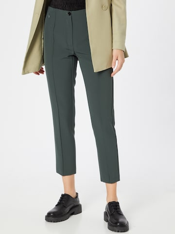 STEFFEN SCHRAUT Trousers with creases 'Gisele' in Green