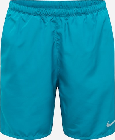 NIKE Pantalón deportivo 'Challenger' en turquesa / blanco, Vista del producto