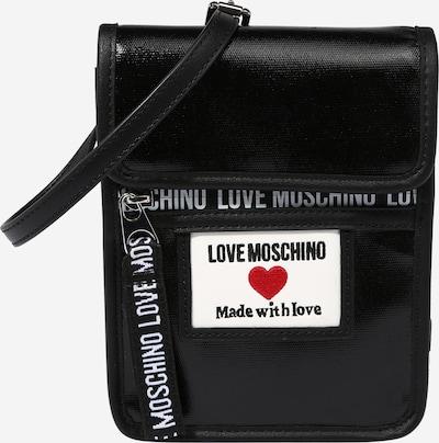 Love Moschino Tasche in rot / schwarz / weiß, Produktansicht