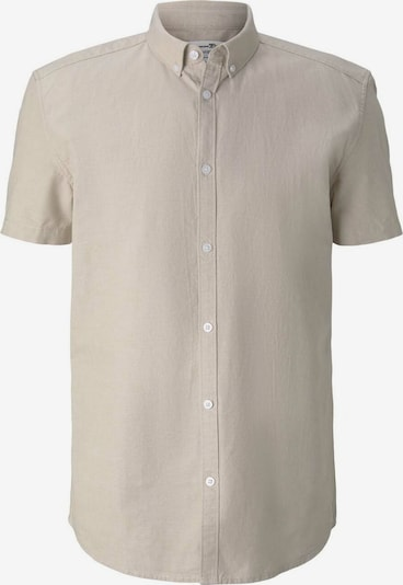 TOM TAILOR DENIM Overhemd in de kleur Beige: Vooraanzicht