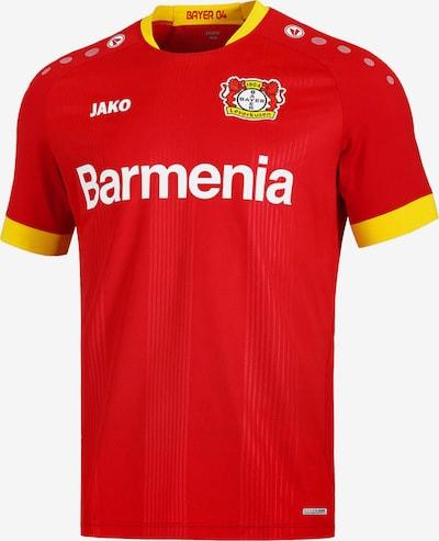 JAKO Trikot '04 Bayer Leverkusen' in gelb / rot / weiß, Produktansicht