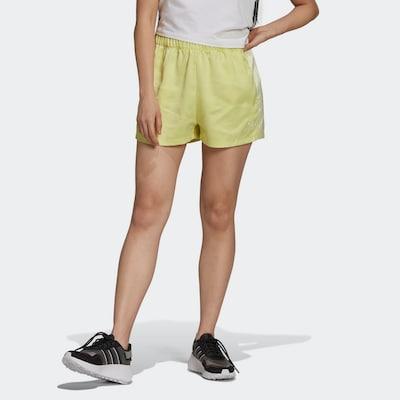 ADIDAS ORIGINALS Shorts in gelb / weiß, Modelansicht
