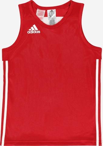 sarkans ADIDAS PERFORMANCE Sporta krekls