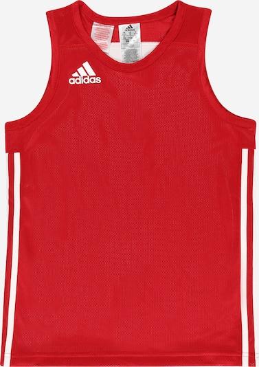ADIDAS PERFORMANCE Functioneel shirt in de kleur Rood / Wit, Productweergave