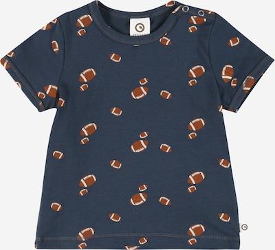 Müsli by GREEN COTTON Koszulka 'Rugby' w kolorze granatowy / rdzawobrązowy / białym, Podgląd produktu