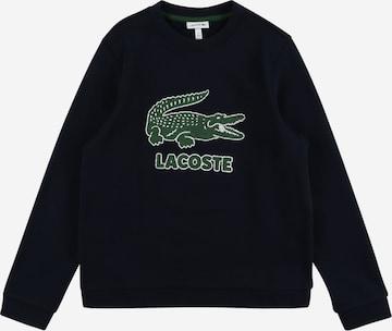 LACOSTE Sweatshirt in Blau