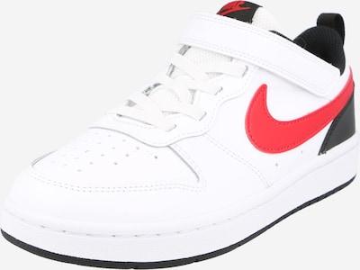 Nike Sportswear Sneaker 'Court Borough Low 2' in rot / schwarz / weiß, Produktansicht