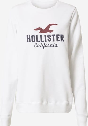 HOLLISTER Sweatshirt in night blue / red / white, Item view