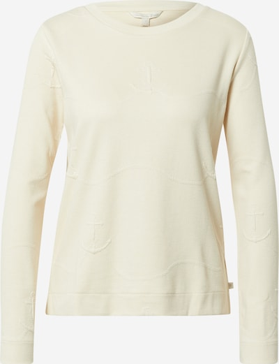 TOM TAILOR DENIM Sweat-shirt en beige, Vue avec produit