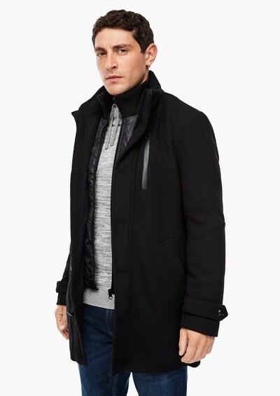 s.Oliver Tussenjas in de kleur Zwart, Modelweergave