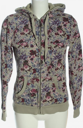 Outfit Fashion Sweatjacke in S in blau / hellgrau / pink, Produktansicht