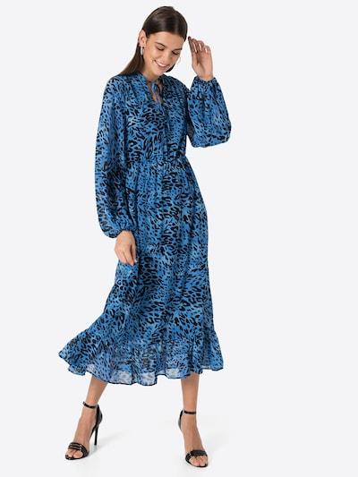 Rochie VILA pe albastru / negru, Vizualizare model