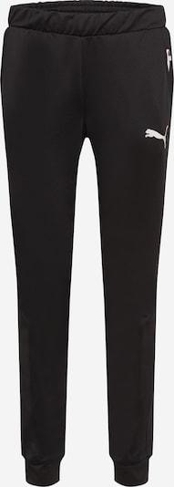 PUMA Pantalón deportivo en negro / blanco, Vista del producto