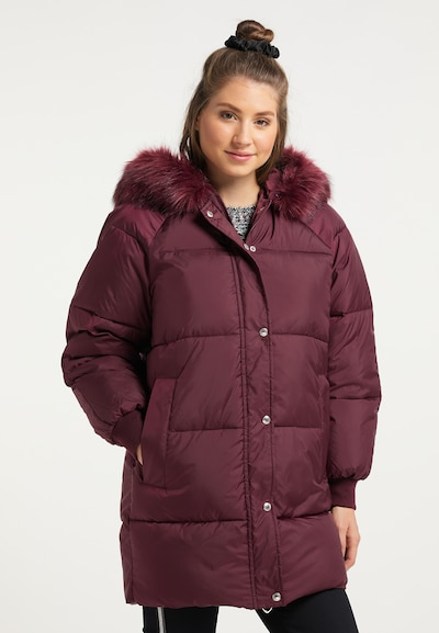 MYMO Winterjacke in bordeaux, Modelansicht