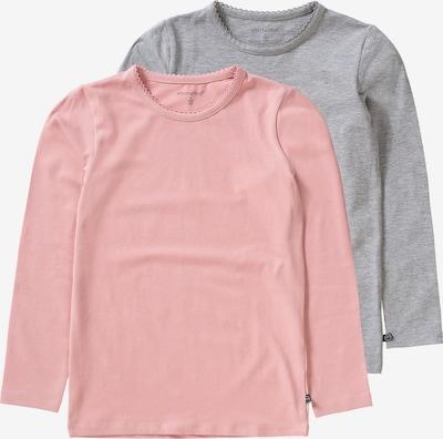 MINYMO Shirt in grau / rosa, Produktansicht