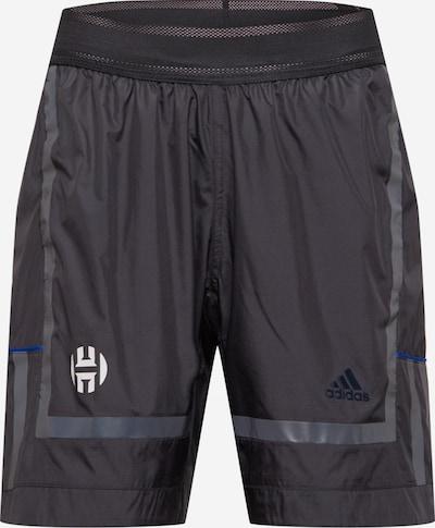 ADIDAS PERFORMANCE Sporta bikses, krāsa - pelēks / melns, Preces skats