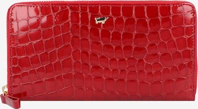 Braun Büffel Portemonnaie 'Verona' in rot, Produktansicht