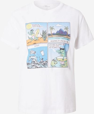 Mavi Shirt in mischfarben / weiß, Produktansicht