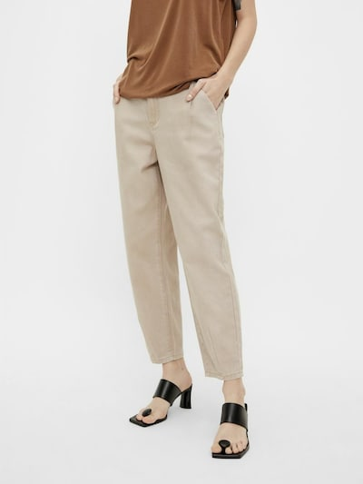 OBJECT Jeans in beige, Modelansicht