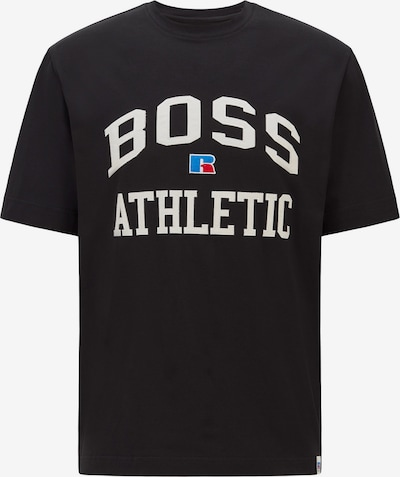 BOSS Casual Bluser & t-shirts 'Russell Athletic' i sort: Frontvisning