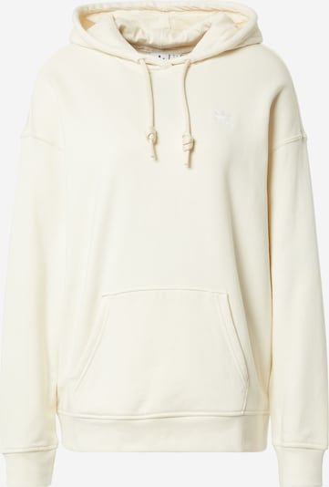 ADIDAS ORIGINALS Sweat-shirt en blanc naturel, Vue avec produit